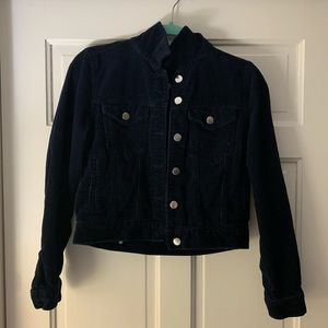 Forever 21 Corduroy Button Jacket